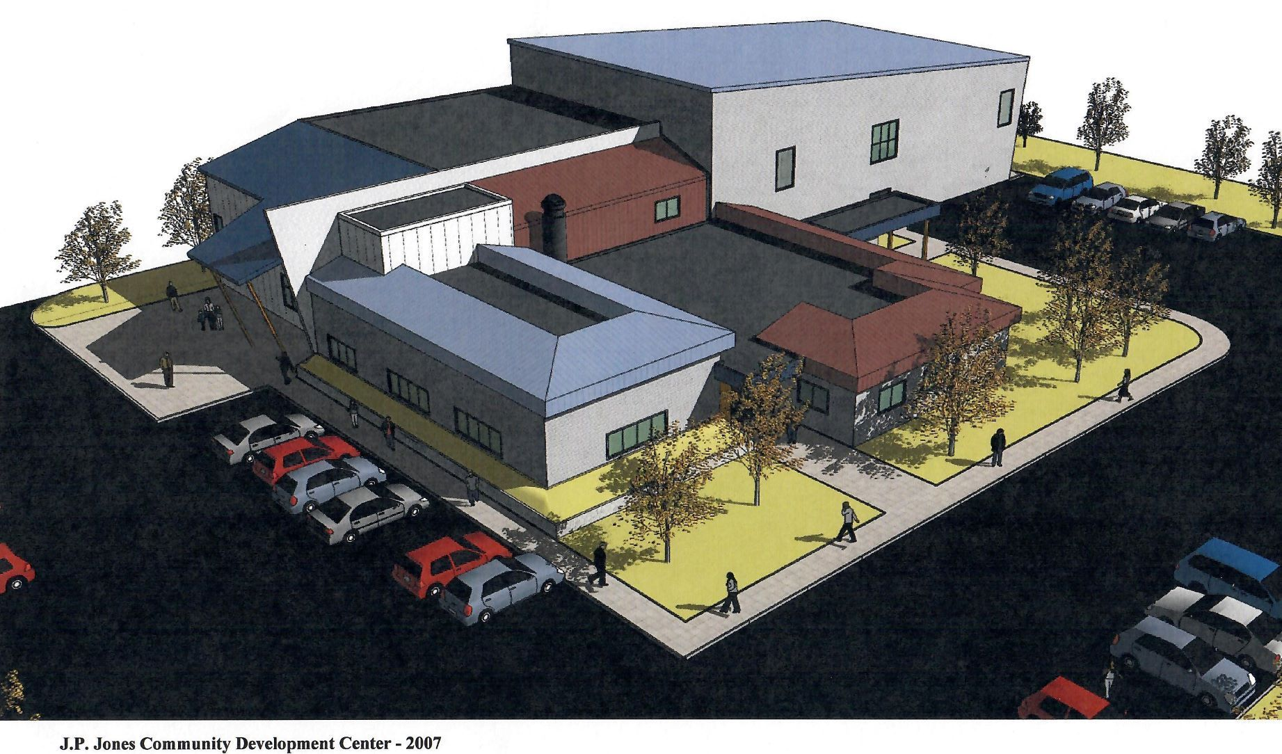 gallery/JP Jones Center Artist Rendering 2007